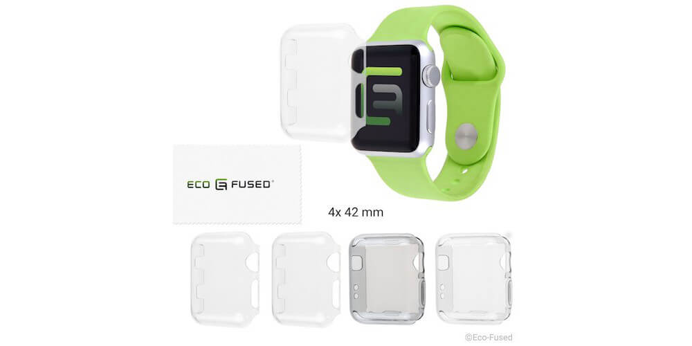 Eco Fused Case Screen Protector-Best Apple Watch Accessories