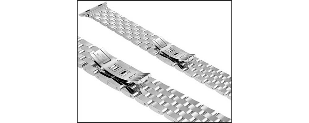 INcool Stainless Steel Strap-Best Apple Watch Accessories