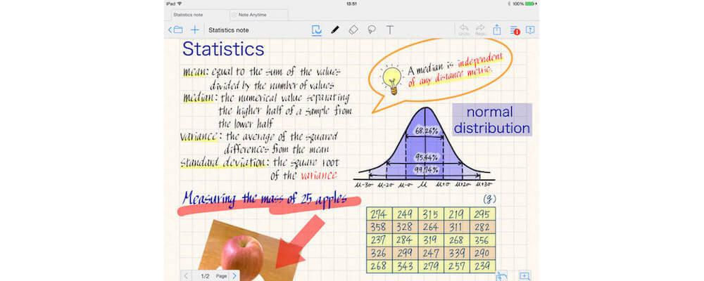 MetaMoJi Note-Best Handwriting Apps For iPad In 2018