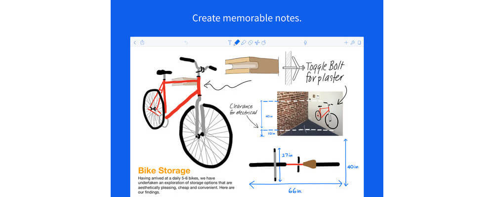 Notability-Best Handwriting Apps For iPad In 2018