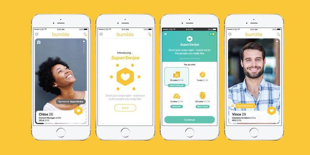 Bumble-Best iPhone Apps To Meet New People