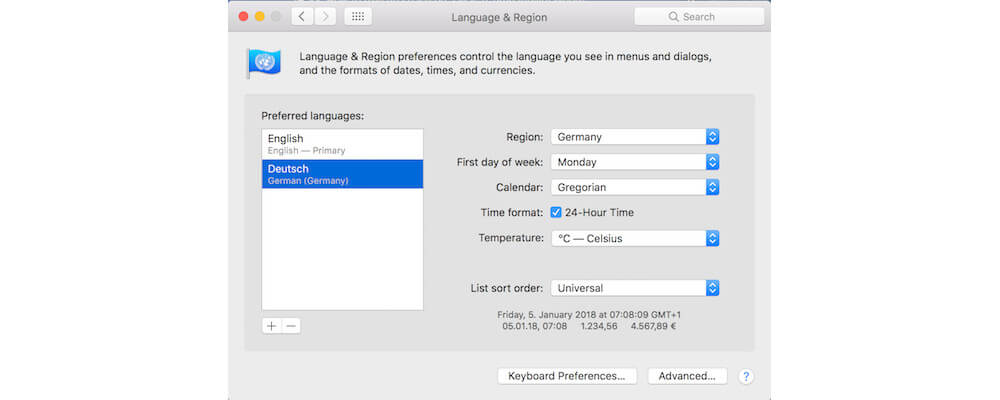 Remove Any Extra Languages That Are Not Needed-How to free up space on a Mac,