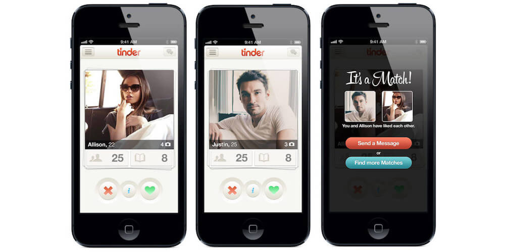 Tinder-Best iPhone Apps To Meet New People