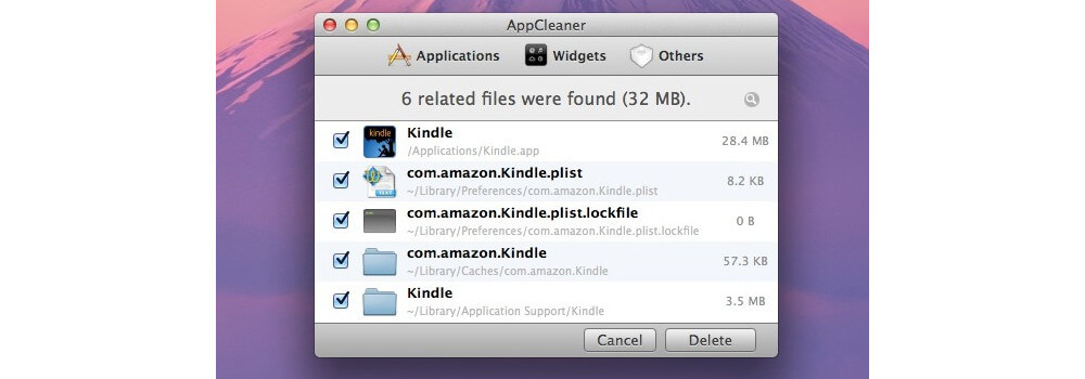 Use AppCleaner For Clearing Out Any Unnecessary, Old Files-How to free up space on a Mac