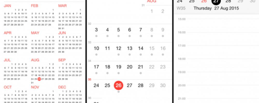 week calener-Best Calender App